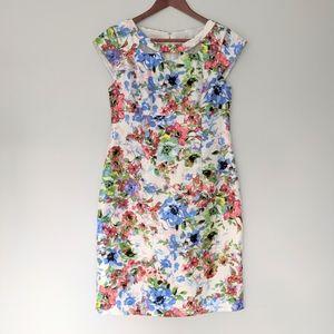 Liz Claiborne Floral cap sleeve dress